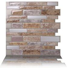 """Self Adhesive Wall Tiles Peel & Stick Anti-mold Kitchen (10 tiles) 10""""x10"""