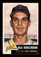 1953 Topps Set Break # 204 Dick Bokelmann VG-EX *OBGcards*