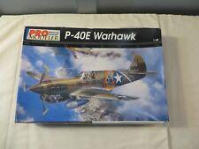 Pro Modeler 1:48 P-40E Warhawk Model Kit 5921 OPEN