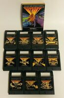 LOT OF 12 MAGNAVOX ODYSSEY GAME CARTRIDGES