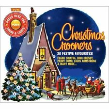 Various Artists - Christmas Crooners CD (FLASHING LIGHT COVER) SINARTRA CROSBY