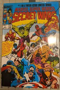 SECRET WARS: OMNIBUS HARDCOVER MARVEL COMICS MIKE ZECK COVER