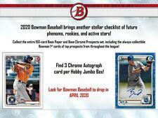 ARIZONA DIAMONDBACKS 2020 BOWMAN JUMBO BASEBALL 2 BOX 1/4 CASE BREAK #9