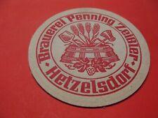 BD Alter Bierdeckel Brauerei Penning Zeißler Hetzelsdorf