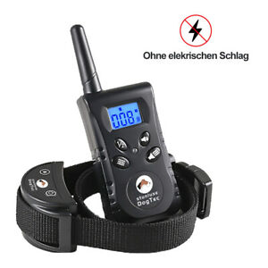 Antibell & Ferntrainer Erziehungshalsband Hunde Vibration & TonFunktion bis 500M