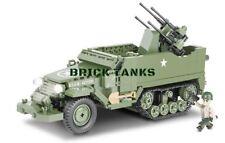 M16 Half-track - COBI 2499 - 500 brick half-track anti-aircraft gun