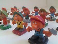 Rare Smurf Lot - 14 Dragados Smurfs - Collector's Items - Vintage Figurines