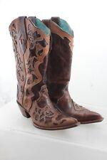 Corral Vintage Womens' 9M Leather  Cowboy Boots C 1933