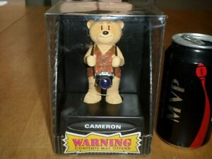"BAD TASTE BEARS - ""CAMERON"", RESIN TEDDY BEAR FIGURINE, COLLECTOR'S TOY, [ NIB ]"