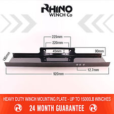 Winch Mounting Plate Tray Heavy Duty up to 15000lb Recovery & 4x4 Rhino Winch
