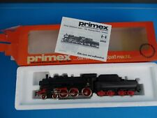 PRIMEX 3010 DB Locomotive with Tender Br 38 Black