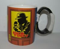 Vintage Applause Dick Tracy Radio Watch Handle Disney Coffee Cup Mug