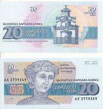 Bulgarien / Bulgaria - 20 Leva 1991 UNC - Pick 100a
