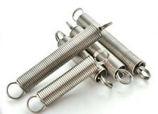 5Pcs 0.5mm Wire Diameter 5mm OD Extension Spring Stainless Steel Tension Springs