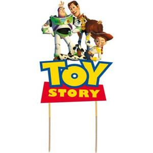 Toy Story Cake Topper Kids Birthday Party Decoration Image Cut Card