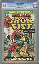 Marvel Premiere - Iron Fist #24 NM+ CGC 9.6 C/OW