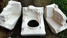 ceramic mold, Santa in rocker