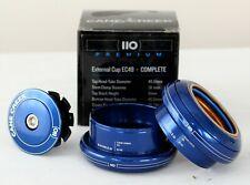 "Cane Creek 110-Series Headset, EC49/38.1|EC49/40, Blue, 1.5"""