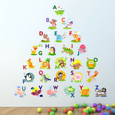 Alphabet Wall Sticker Learning letters kids room decal children art mural