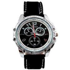 Black Silver Mens Wrist Watch Geneva Designer Silicone Sport Chrono Oversized