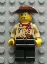 Personnage LEGO minifig Johnny Thunder ref 973pa3 / Set 3722 5958 5988 5919 5900