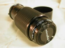 Minolta 80-200 F 4.5 Rokkor X Zoom with lens shade