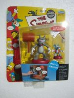 NEW Playmates Toys The Simpsons Itchy and Scratchy Action Figures 2001