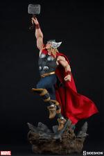 Sideshow Marvel Comics Avengers Assemble God of Thunder Thor Statue In Stock