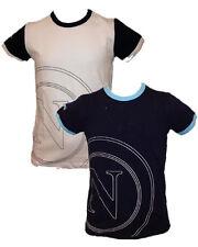 T-shirt neonato bambino N Napoli calcio-6-9 mesi-bianco