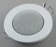 Altavoz ALTAVOZ EMPOTRABLE Altavoces de techo halogen-look 8cm Ø, 6cm blanco