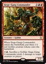 SIEGE-GANG COMMANDER Eternal Masters MTG Red Creature — Goblin Rare