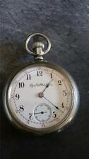 VINTAGE 18 SIZE ELGIN POCKETWATCH GRADE 73 FROM 1889