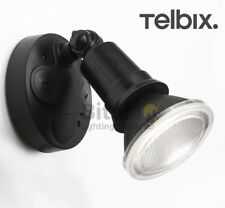 NEW TELBIX COMET 10w LED OUTDOOR SINGLE SPOT LIGHT ADJUSTABLE FLOOD WALL 10W