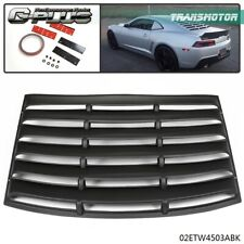 2011 2012 2013 2014 Side Rear Body Scoops Unpainted Pair Poly Urethane PU by IKON MOTORSPORTS Scoop Fits 2010-2015 Chevy Camaro