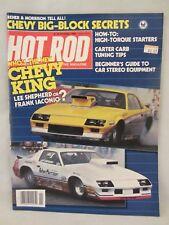 Hot Rod Magazine -  Nov. 1983 ,  Chevy Big-Block Secrets   (1217)