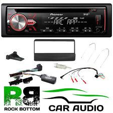 Ford Fiesta 1995 - 2001 Pioneer DAB+ CD MP3 USB Car Stereo & Black Fascia Kit