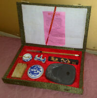 COFANETTO CINESE Vintage con strumenti per ceralacca