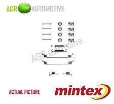 MINTEX REAR BRAKE SHOES SET FITTING KIT PIN SPRINGS GENUINE QUALITY - MBA672