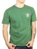 Brixton Mens Rival II Standard Fit Short Sleeve T-Shirt Evergreen Worn Wash M Ne