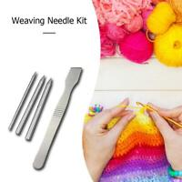 Stainless Steel 550 Paracord Bracelet Lacing Weaving Stitching Needle Kit Set