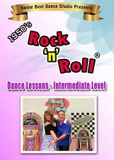 Rock'n'Roll Intermediate Dance Lessons DVD *NEW* 2018 Release!