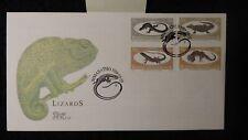 Bophuthatswana South Africa 1984 lizards reptiles good used chameleon