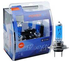 POWERTEC Xenon Blu Duo H7 LAMPADINA DEL FARO AUTO SET 12V 55W