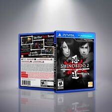 Shinobido 2: Revenge Of Zen - PlayStation Vita Cover and Case. NO GAME!!