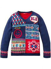 -50% Oilily Jacquard Pullover Gr. 92/2Y~mit Cashmere~NP 89,90 €~NEU