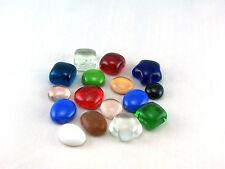 Glasnuggets - Dekosteine - Muggelsteine I. Wahl, klein in versch. Farben zu 200g