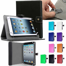 """Universal Case 7"""" 7 inch Tablet Accessories Folio Stand Flip Leather Case Cover"""