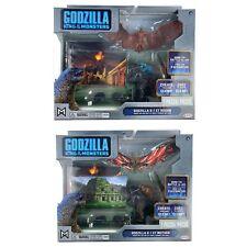 Jakks Godzilla King Of The Monsters Lot of 2 battle packs Rodan Mothra