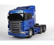 Tamiya 300056327 - 1:14 RC Scania R620 6x4 Highl.blau Lack. Producto Nuevo