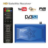 FTA HD DVB-S2 Satellite Receiver Youtube Tv Box Sat Finder Decoder USB Recording